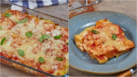 Tomato parmesan potatoes: a side dish that the whole family will love!