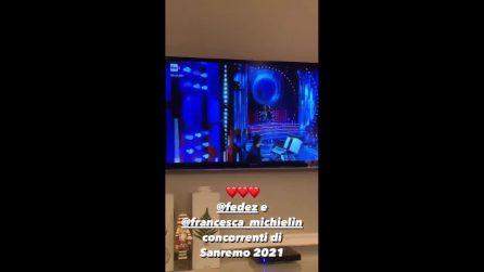 La reazione di Chiara Ferragni e Leone alla partecipazione di Fedez a Sanremo