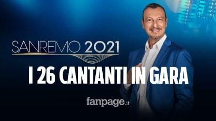 Sanremo 2021, presentati i 26 Big che parteciperanno alla settantunesima edizione del Festival