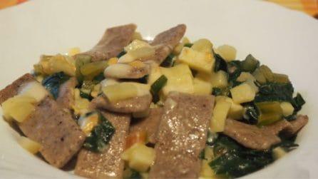 Pizzoccheri con bietole e patate al burro profumato: ideale per sorprendere i tuoi ospiti