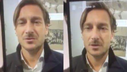 Francesco Totti: il video per il ragazzo in coma dopo l'incidente in discoteca ad Ancona