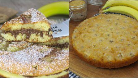 Torta alla banana - In padella vs in forno