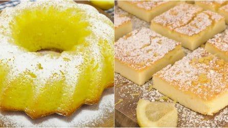 I dolci perfetti per gli amanti del limone!