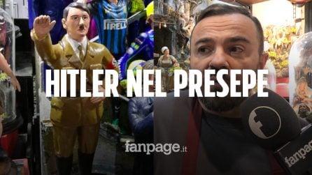 """Napoli, l'autore della statuina di Hitler si difende: """"Me l'hanno commissionata"""". E spunta Mussolini"""