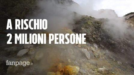 """Vesuvio e Campi Flegrei, l'esperto: """"2 milioni di persone a rischio, piano sicurezza inaffidabile"""""""