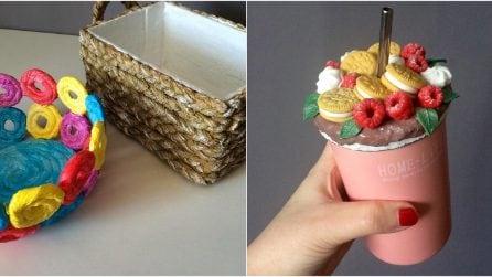 Ecco come trasformare dei tovaglioli in splendidi cestini!