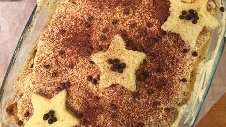 Tiramisù con il pandoro: la versione golosa per Natale