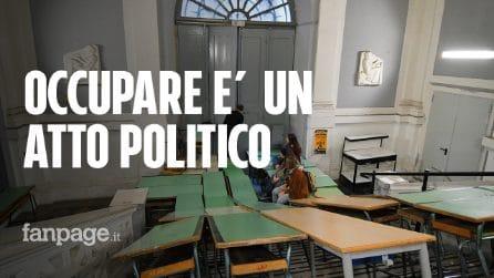 """Liceo Tasso, preside chiede agli occupanti di autodenunciarsi: """"Non ci nascondiamo è un atto politico"""""""