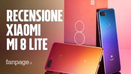 Recensione Xiaomi Mi 8 Lite: uno smartphone economico, con le vesti da top di gamma