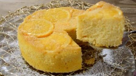 Torta rovesciata all'arancia: soffice e golosa, con tutto il sapore dell'arance fresche