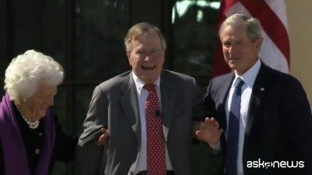 Addio a George Bush senior, l'ex presidente Usa morto a 94 anni