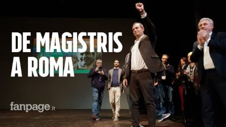 """De Magistris lancia il suo movimento: """"Nel Paese spira un vento nero e fascista"""""""