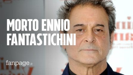 Morto l'attore Ennio Fantastichini, lutto mondo del cinema: ecco le cause