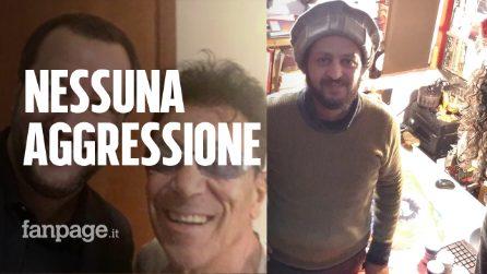 """L'uomo che ha contestato Salvini da Bennato: """"Non l'ho aggredito, gli ho urlato razzista"""""""