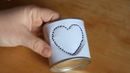 Come riutilizzare i barattoli di latta: il riciclo natalizio