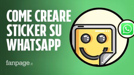 Come creare sticker personalizzati su WhatsApp con le proprie foto