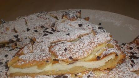 Crostata ricotta e gocce di cioccolato: il dessert cremoso che vi farà impazzire