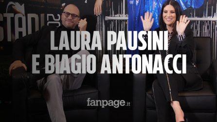 """Laura Pausini e Biagio Antonacci tra """"Coraggio di andare"""" e tour: """"Raccontiamo la nostra amicizia"""""""