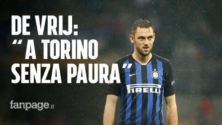 """Inter, De Vrij: """"Con la Juve sfida difficile, ma noi siamo pronti"""""""