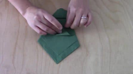 Il dettaglio che non può mancare sulla tavola a Natale: come sistemare i fazzoletti