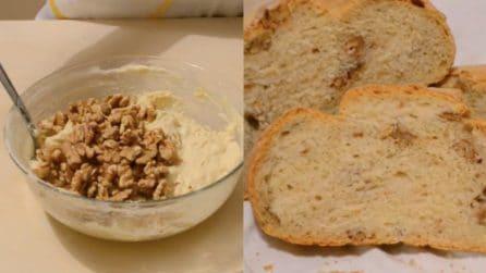 La ricetta per un delizioso e soffice pane alle noci: ecco come prepararlo