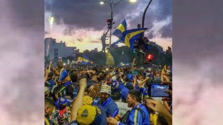 Il Boca Juniors parte per Madrid: quello che succede a Buenos Aires è impressionante