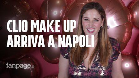 Clio Make Up apre a Napoli, una coda lunghissima per entrare nel suo store temporaneo