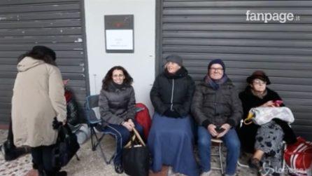 Milano, persone in attesa tutta la notte davanti alla Scala per la prima