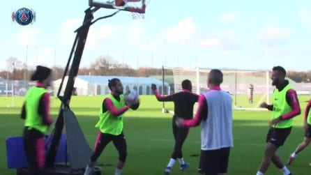 Verratti è una frana col basket: per il centrocampista del PSG decisamente meglio il calcio