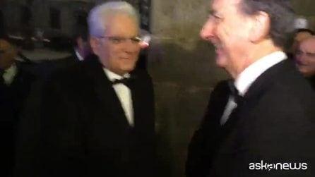 Alla prima alla Scala tanti vip e applausi per Sergio Mattarella