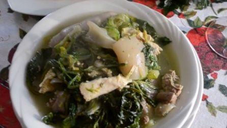 Minestra maritata: la deliziosa e calda zuppa