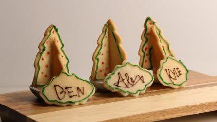 Biscotti segnaposto, l'idea originale per le feste natalizie!