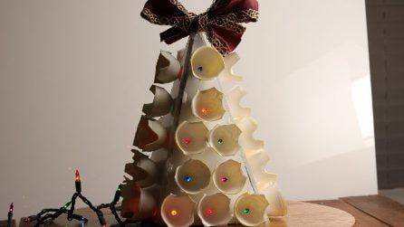 Come riciclare i cartoni delle uova per Natale
