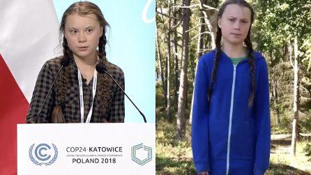 Greta Thunberg 15enne attivista emoziona con il suo discorso alla Conferenza sul Clima