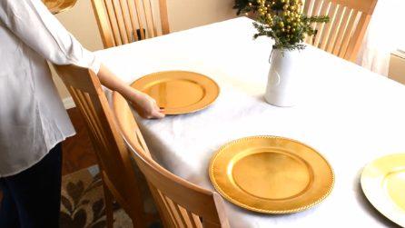 Come apparecchiare la tavola natalizia: l'idea semplice e bellissima