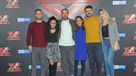 Finalissima di X Factor 2018: Anastasio, Bowland, Luna e Naomi in conferenza stampa