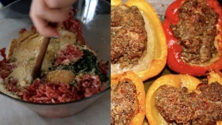 Peperoni ripieni al forno: una ricetta davvero saporita