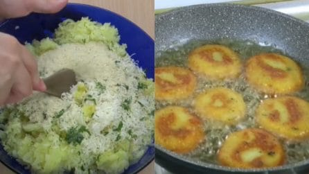 Polpette di patate croccanti: le ricetta per prepararle velocemente