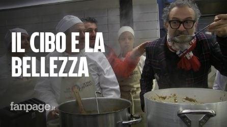 """Pasto sociale per i poveri contro gli sprechi, lo chef Bottura: """"La bellezza ridà dignità all'uomo"""""""