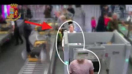 Aeroporto di Fiumicino, il furto ai controlli di sicurezza: derubato uno straniero