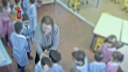 Noto, maestra d'asilo maltratta i bambini: le telecamere la incastrano