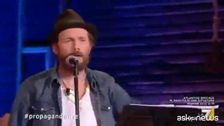 Jovanotti canta il testo di Giorgia Meloni: la hit su Global Compact