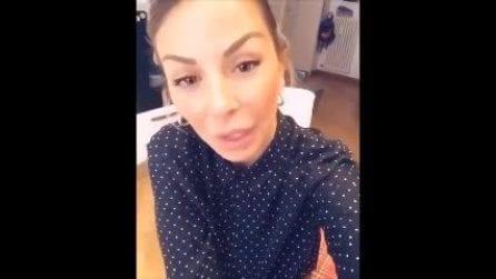 """Sabrina Ghio commossa: """"Non passerò il Natale con mia figlia"""""""