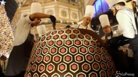 Il panettone di uno chef milanese entra nel 'Guinness World Records'