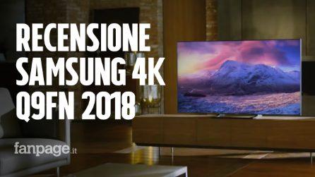 Recensione Samsung QLED Q9 2018: la TV 4K top di gamma ha neri profondi ed è ottima per i giochi