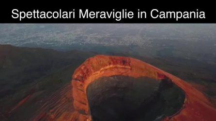 Le meraviglie naturali della Campania viste dall'alto con un drone