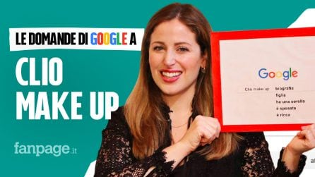 ClioMakeUp, tutorial, Grace, shop, rossetti: la make up artist risponde alle domande di Google