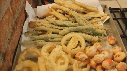 Verdure in tempura: saporite, semplici e croccanti