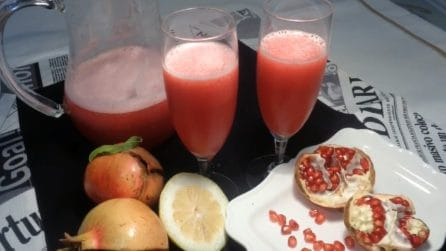 Aperitivo natalizio al melograno: gustoso e facilissimo