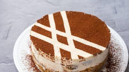 Cheesecake al tiramisù: la versione super golosa!